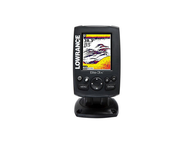 Echosonda Lowrance Elite-3x Color Fishfinder 83/200kHz