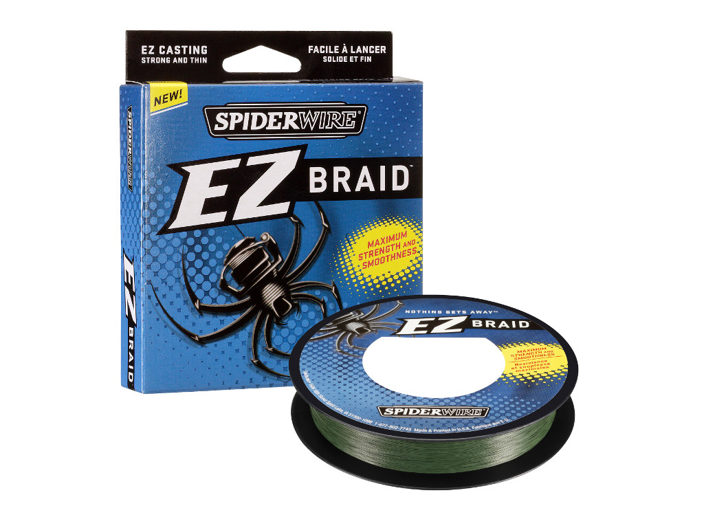 Plecionka SpiderWire Ez Braid Lo vis Green 0,30mm-22,8kg (270m)